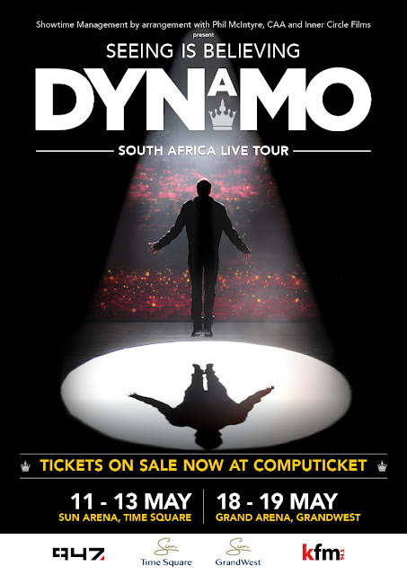 DYNAMO Brings His Magic LIVE TOUR to SA For The First Time #DynamoSA