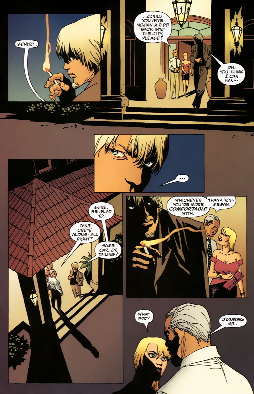 Read online 100 Bullets comic -  Issue #63 - 11