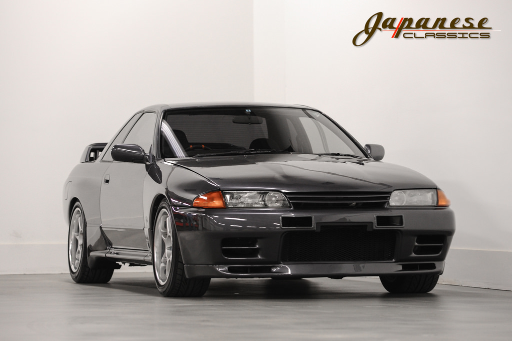Uber Car Seat >> Here's Your Chance To Buy A 1990 Nissan Skyline GT-R R32 In The USA | Carscoops