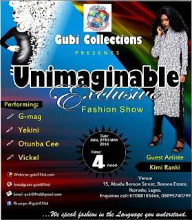 FASHION: Gubi Collections Presents Unimaginable Exclusive Fashion Show