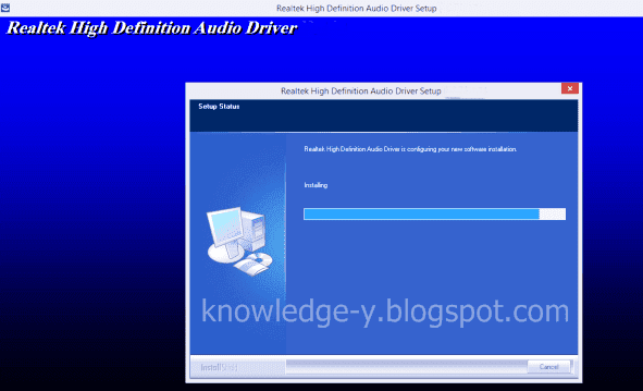 how to reinstal the realtek hd audio codec driver