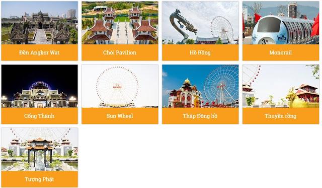 Khu Sun Wheel - Công viên Châu Á