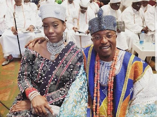 Oba AbdulRasheed Adewale Akanbi and Olori Chanel Akanbi