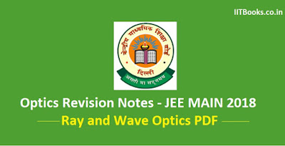 ray optics revision notes pdf ebook