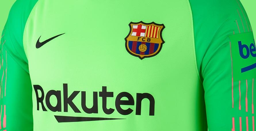 best cheap 80537 91457 Ugly Box For the Beko Logo | 3 FC Barcelona 18-19 Goalkeeper ...