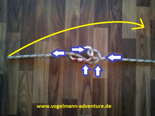 Sicherung Knoten HALB-MASTWURF-SICHERUNG - 5
