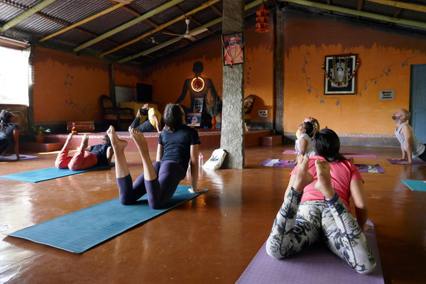 Yoga TTC Classes and Course undergoing at Inteyoga Mysore