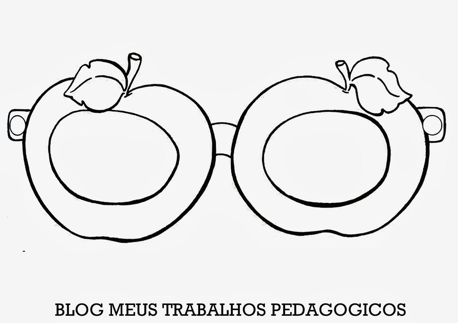 Atividade Para Imprimir Modelos E Moldes De Oculos Datas Diversas