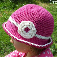 crochet sun hat baby/toddler