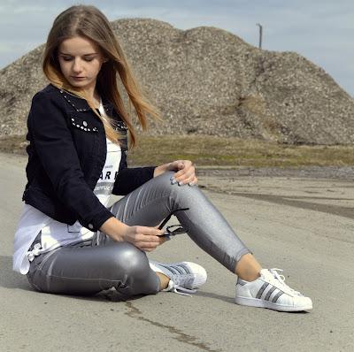 339. Superstar look. Sportowa stylizacja na wiosnę. ♥ #footway
