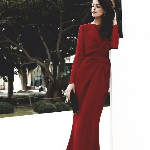 max mara red dress luxuries girl blogger