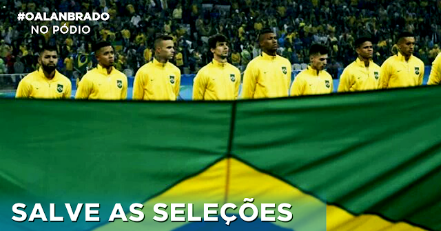 Com objetivos diferentes, seleções de futebol ficam em situações opostas