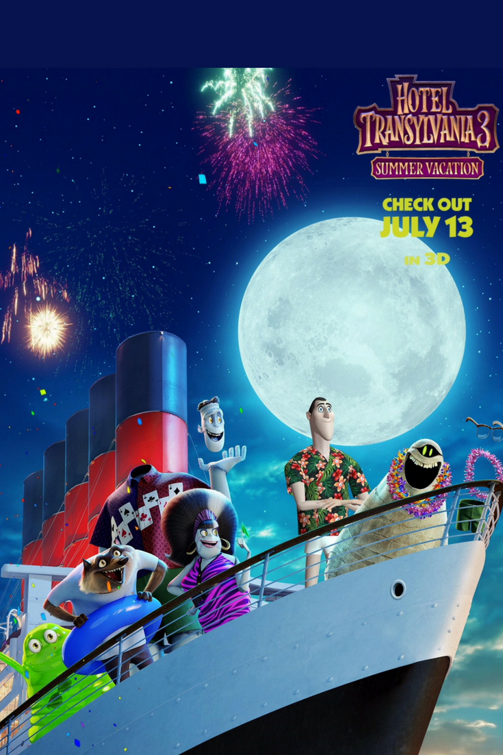 Be Prepared To Experience The Most Monsterous Cruise Vacation Yet In This Summers Much Anticipated New Family Friendly Kids Fantasy Movie From Columbia