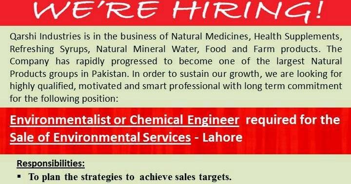 Qarshi Industries Job Vacancy Latest | Jobs 2019