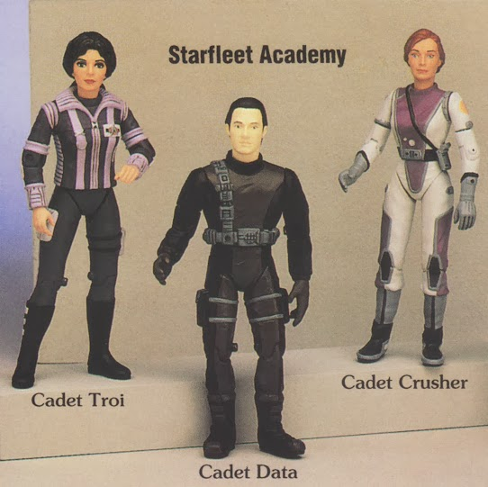 Star Trek Playmates Warp Factor Action Figure Promo Advertisement