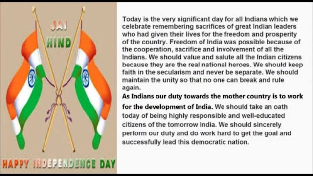 Independence Day Speech 2018 for Students