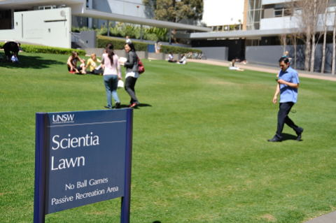 Scientia Lawn