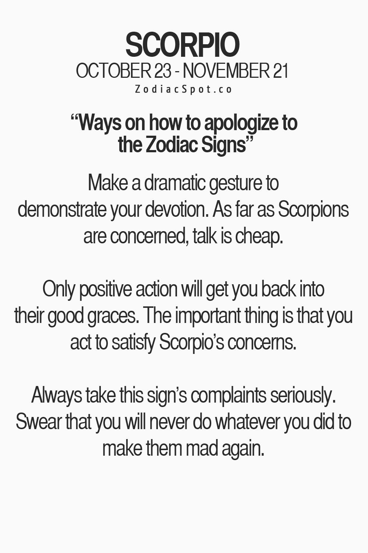 How to apologize to an aquarius man