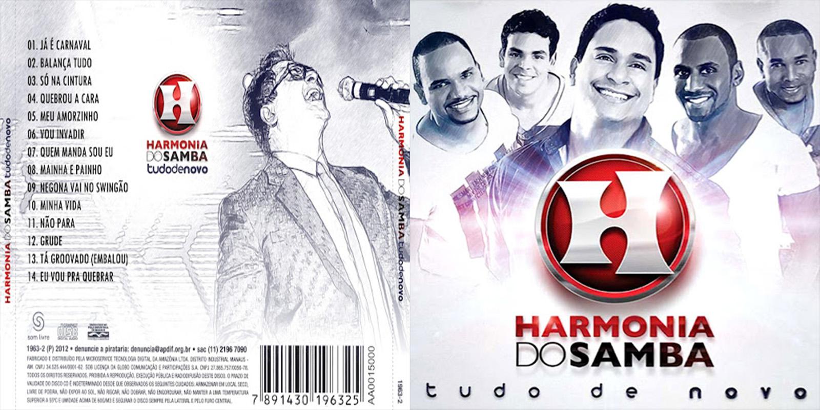 cd do harmonia do samba 2012 tudo de novo