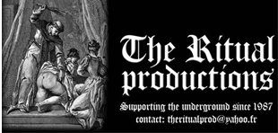 The ritual productions label underground metal le scribe du rock