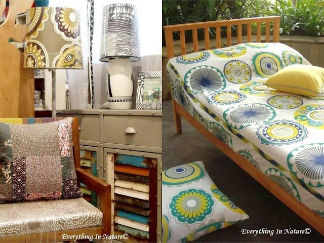 patterns fabric , furniture - everything in nature