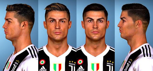 PES 2017 Faces Cristiano Ronaldo (2 Version)