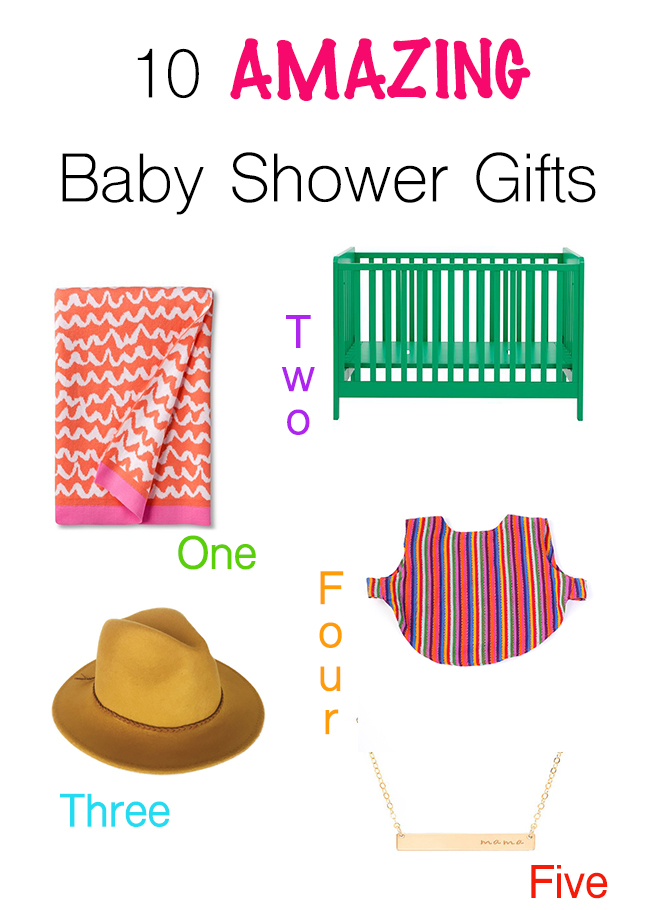10 amazing baby shower gifts
