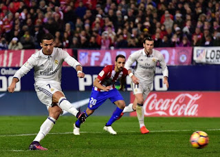 Cristiano Ronaldo Madrid Derby hat trick