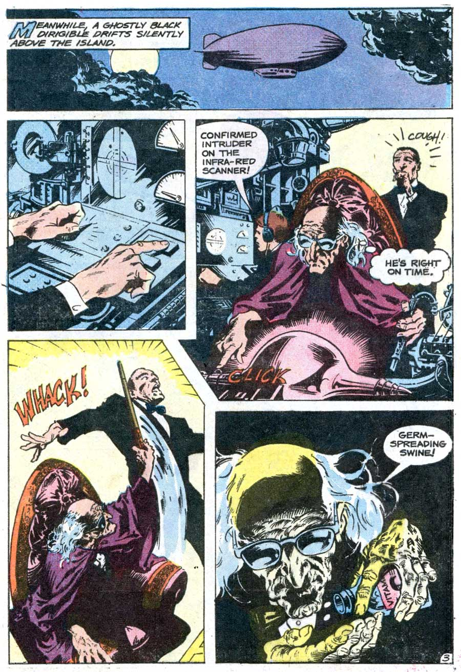 The Phantom v2 #73 charlton comic book page art by Don Newton