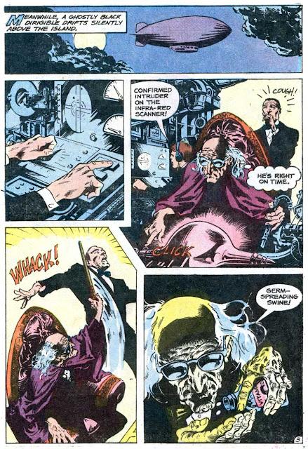 The Phantom v2 #73 charlton comic book page art by Don Newton