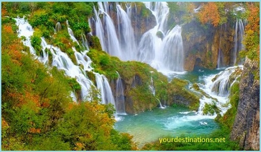 The Plitvice Waterfall 2