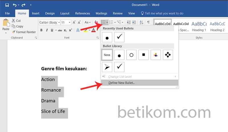 Di word selol ink cara membuat checklist simbol kotak centang di word betikom di word cara membuat ccuart Gallery