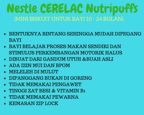 keunggulan cerelac nutripuffs