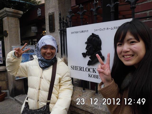 Rumah Sherclok Holmes Suasana Klasik Eropa di Ijinkan Kobe Japan