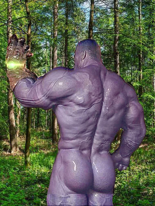 Thicc Thanos (Avengers Infinity War)