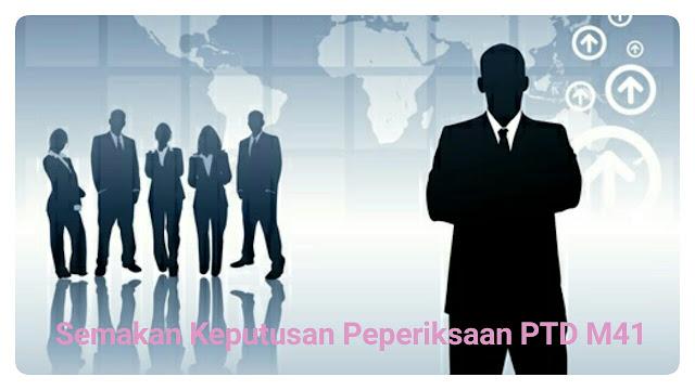 Semakan Keputusan Peperiksaan Online PTD 2021 (PSEE)