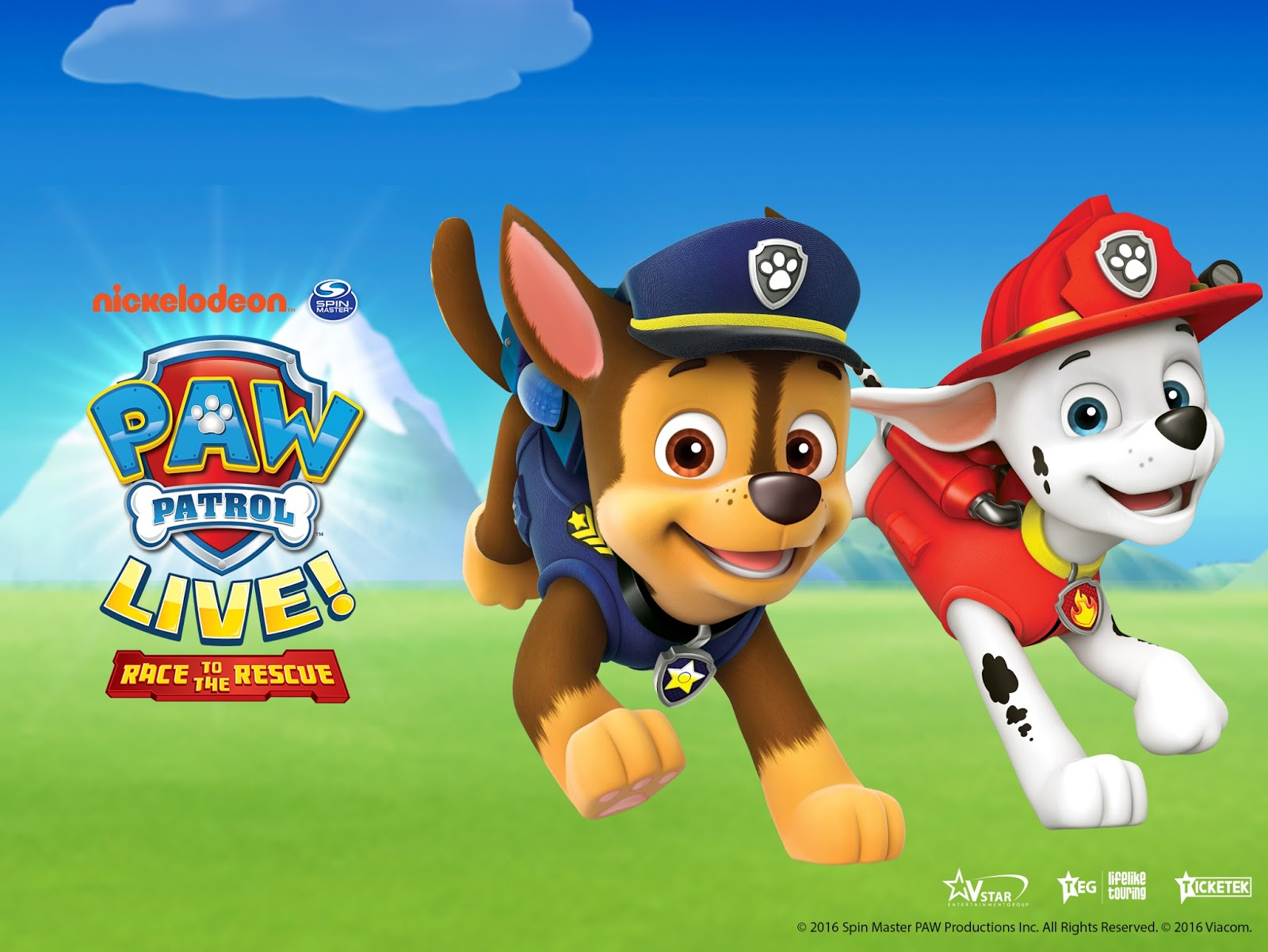 NickALive!: PAW Patrol Live! Race to the Rescue Announces ...