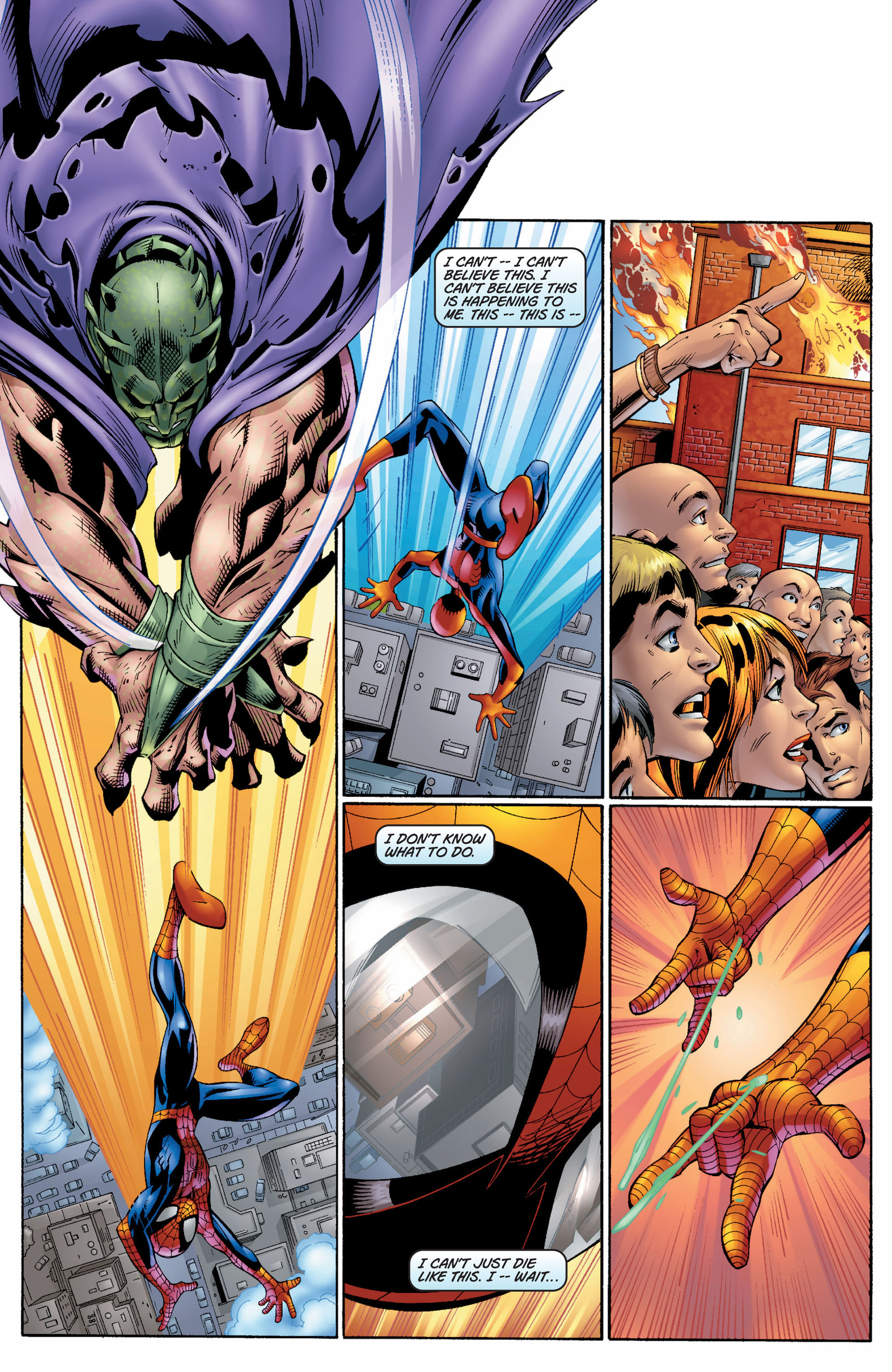 Read online Ultimate Spider-Man (2000) comic -  Issue #7 - 4