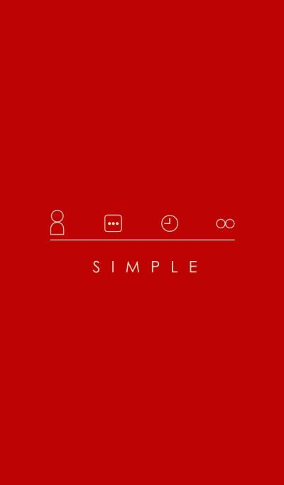 SIMPLE(beige red)Ver.4