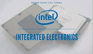 Logo Intel - Integrated Electronics