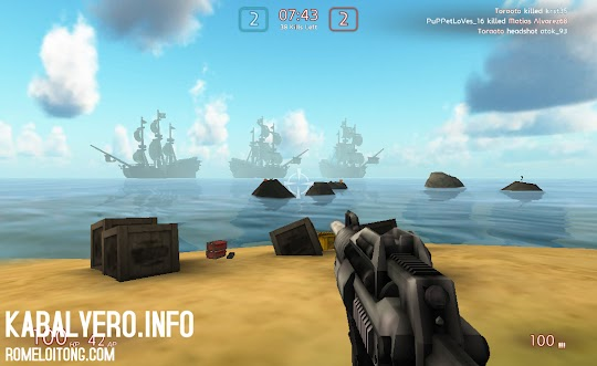 UberStrike, First-Person-Shooting Game In Facebook