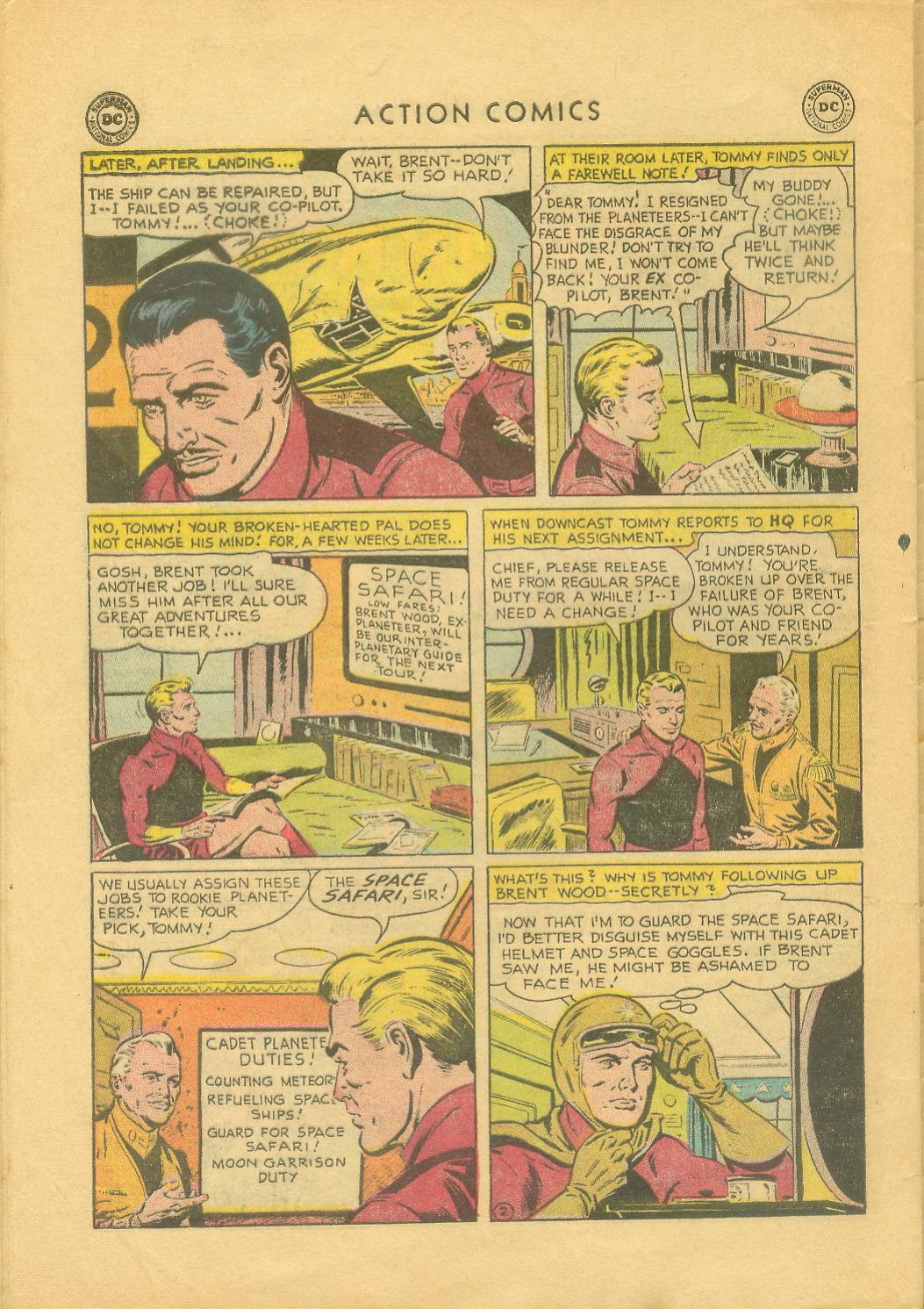 Read online Action Comics (1938) comic -  Issue #216 - 29