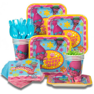 trolls movie 2016 tableware