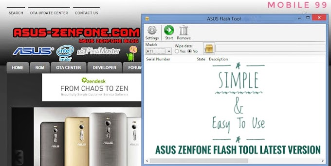 ASUS ZENFONE Flash Tool Latest Version V2.0.1 Free Download For Windows