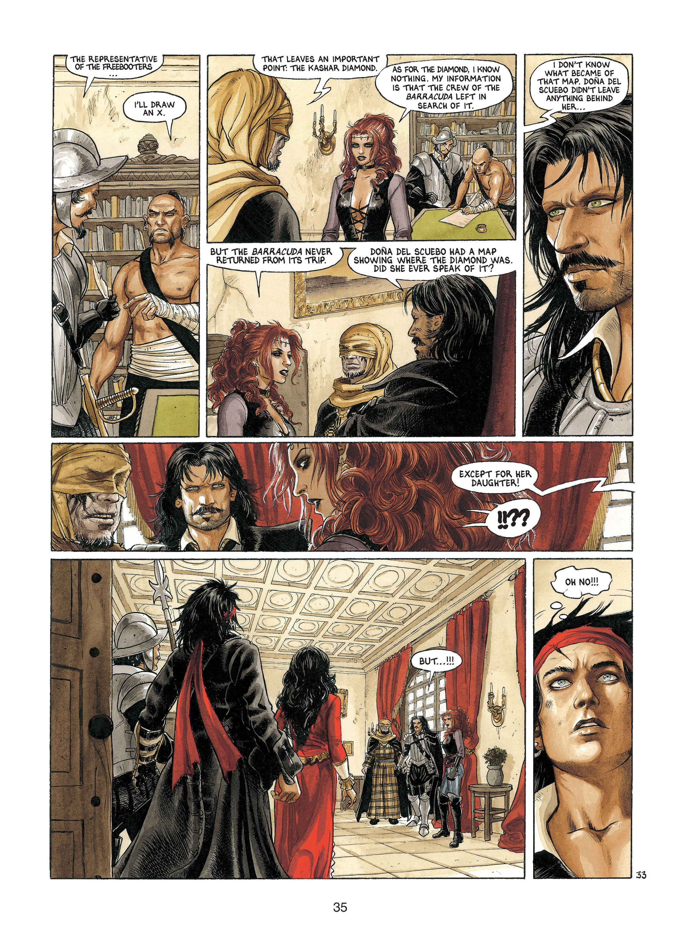Read online Barracuda comic -  Issue #4 - 36