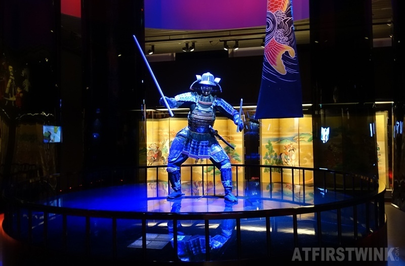 Museum volkenkunde leiden Netherlands Cool Japan exhibit warriors