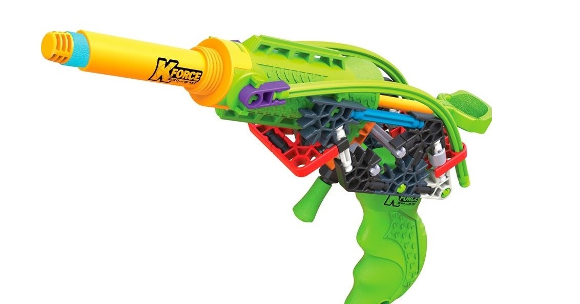 Review K Nex K Force K 5 Phantom Blaster The Test Pit