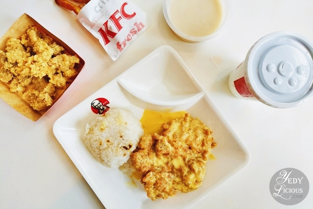Kfc salted egg yolk chicken yedylicious manila food blog and easy kfc salted egg chicken philippines kfc salted egg yolk chicken new product menu of kfc forumfinder Gallery