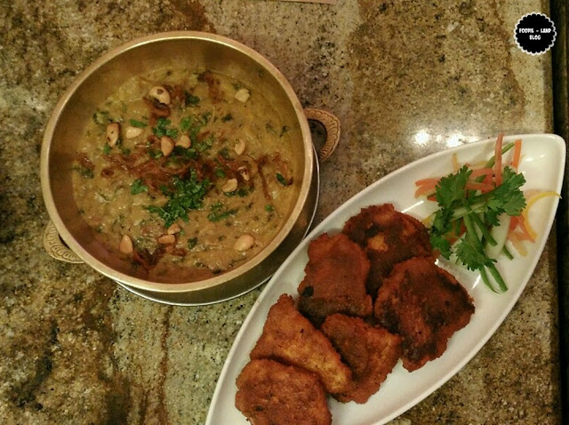 Haleem & Fish Tikka @ The Hyderabadi Food Festival @ M Café | Marriott Whitefield | Bangalore