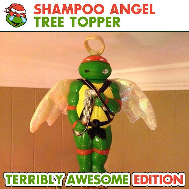 The Sewer Den Cowabunga Christmas Terribly Awesome Shampoo Angel